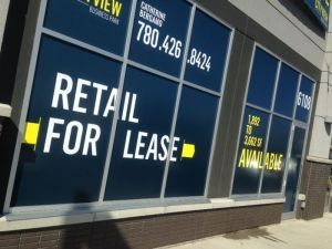 For Lease Signs Fort McMurray