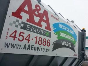 Aluminum Sign Edmonton South
