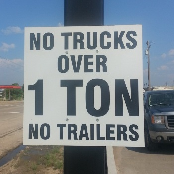 Edmonton East Aluminum Signage
