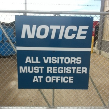 Edmonton East Aluminum Signs