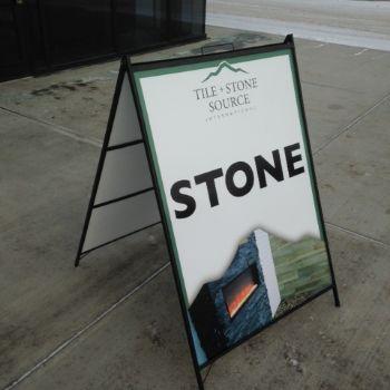 Stony Plain A-Frame Sign