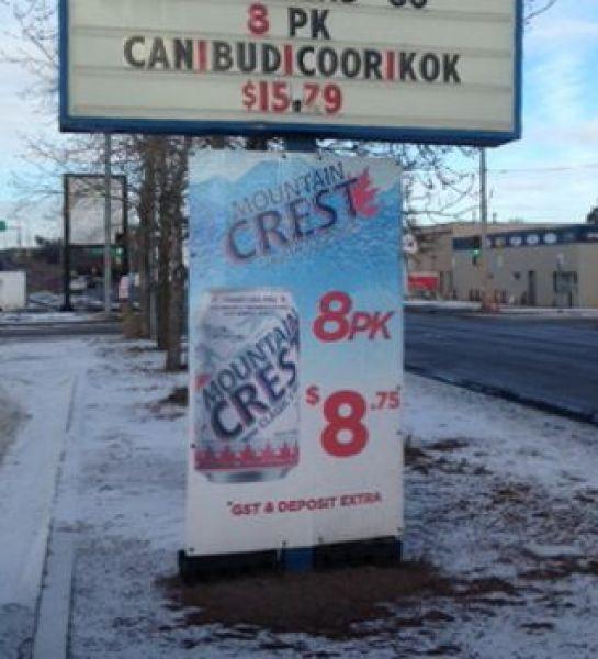 Coroplast Signage Edmonton East