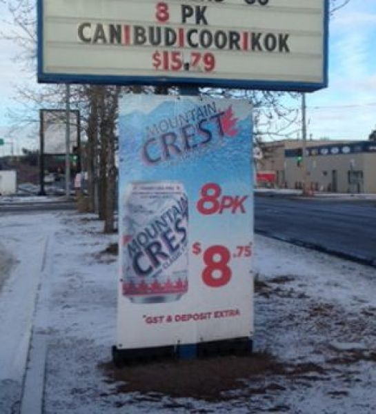 Coroplast Signs Edmonton North