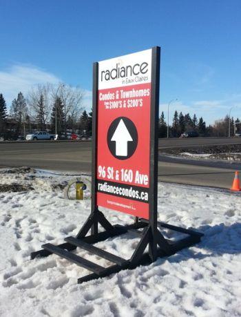 Wayfinding Signs Edmonton North