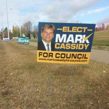 Election Signs Edmonton North