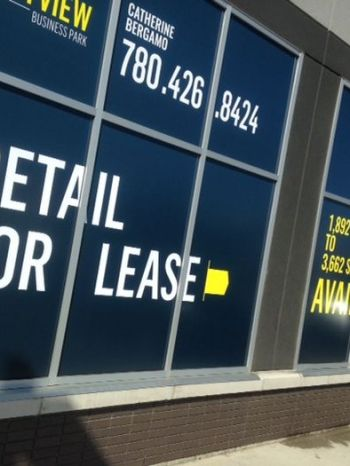 For Lease Signs Edmonton South