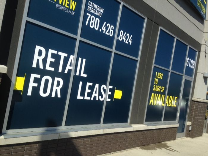 For Lease Signs St. Albert
