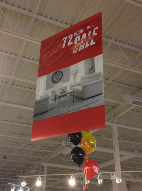Spruce Grove Hanging Signs