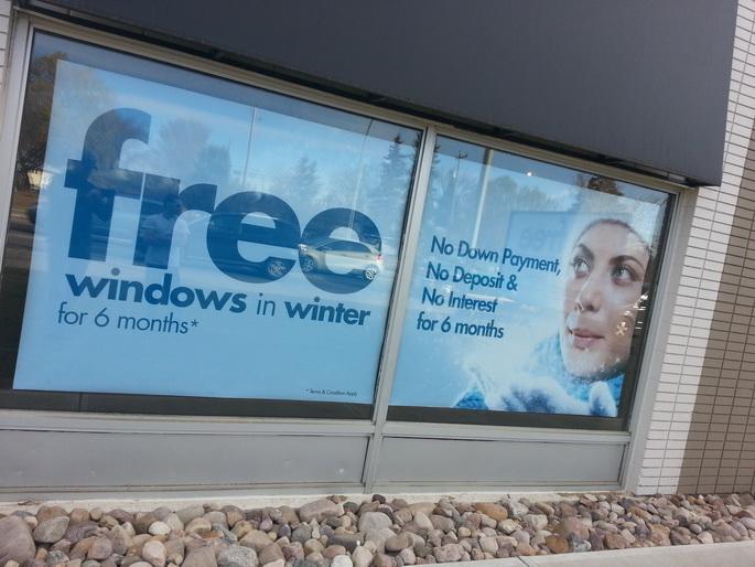 Poster Signs Edmonton East