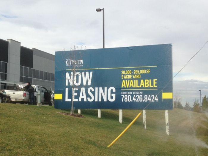 Real Estate Signs Edmonton West