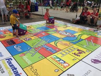 Sherwood Park Floor Graphic