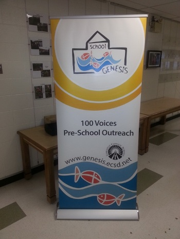 Retractable Banner Stand Sherwood Park