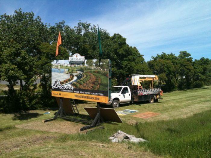 Sign Installation Sherwood Park