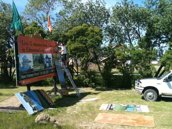 Sign Installation St. John's