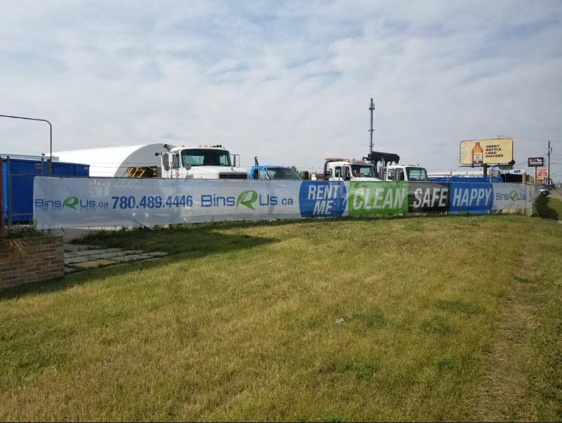 Mesh Banners Stony Plain
