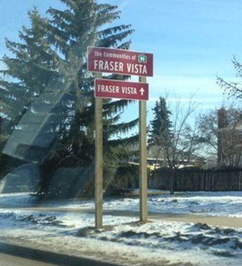 Winnipeg Wayfinding Signs