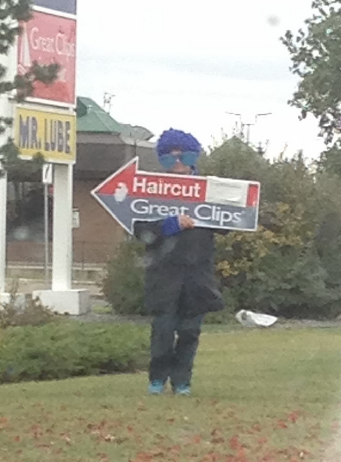 Spinner Arrow Signs Winnipeg