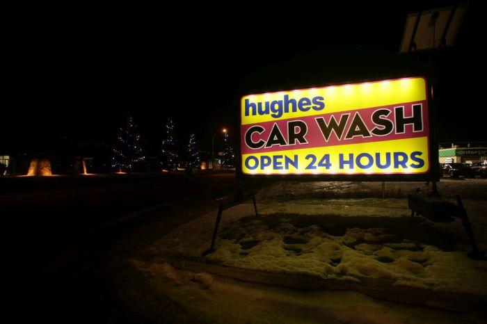 Edmonton West Portable Sign