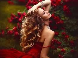 color rojo simbolo de la atraccion