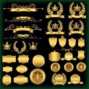 dorado color del poder y el merito