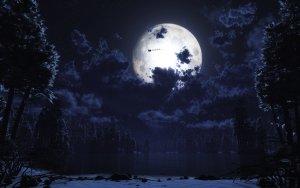 luna plateada