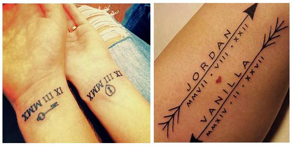 Plantillas De Números Para Tatuajes Diseños Y Tipos De Tatuajes