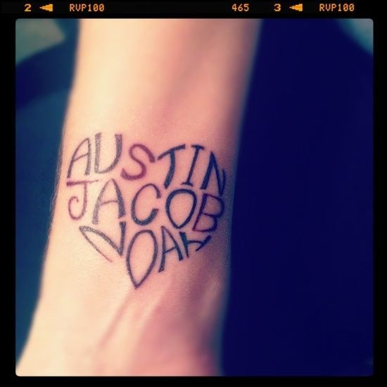 Tatuajes De Nombres Significado De Nombres