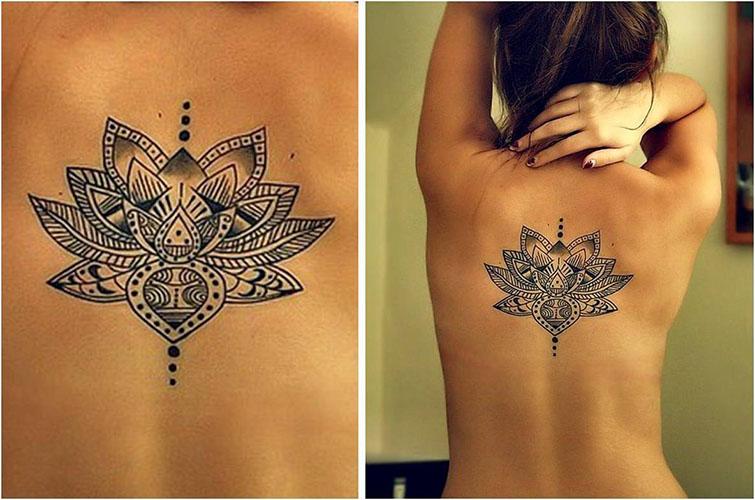 Mejores Tatuajes De Flores Para Mujeres Y Hombres 2019