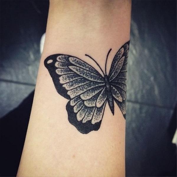 Tatuajes De Mariposas Para Mujeres Y Hombres 2019