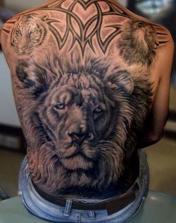 Tatuajes De Leónes Hombres Mujeres Significado