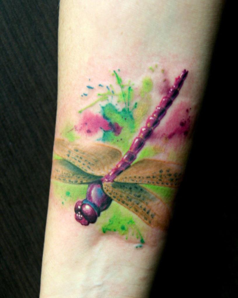 Top Mejores Tatuajes De Libélulas Con Significado 2019