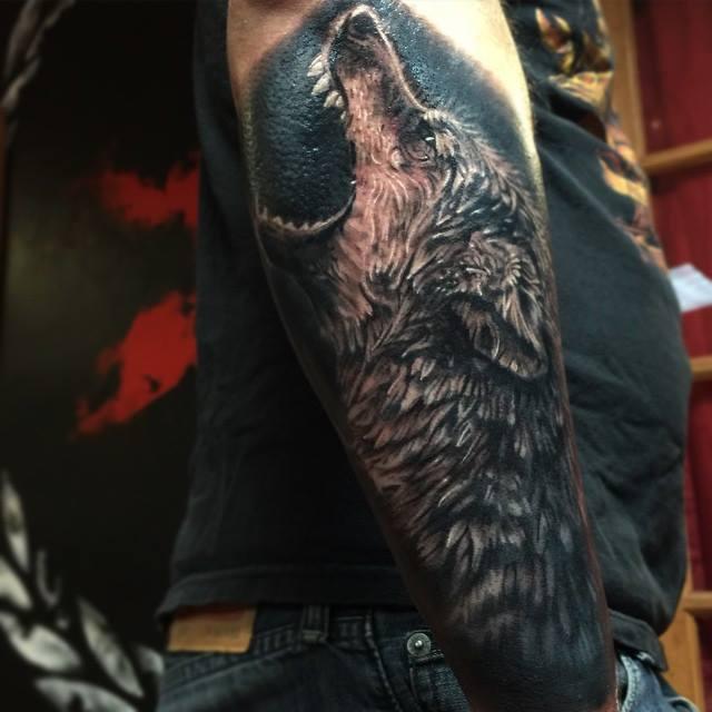 Mejores Tatuajes De Lobos Para Hombres Mujeres 2019