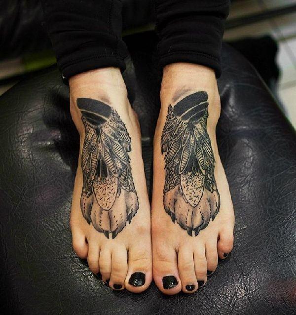 Tatuajes En Los Pies Hombres Mujeres Significado 2019