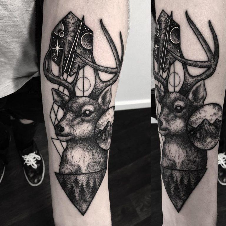 Tatuajes De Ciervos Para Hombres Y Mujeres Significado 2019