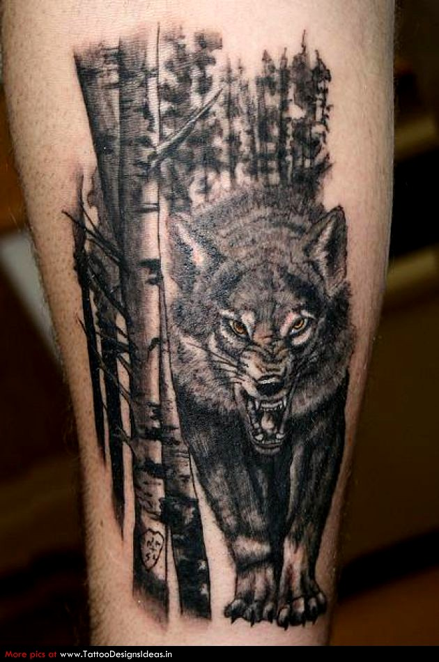 Tatuajes De Bosques Significados Ideas E Imágenes 2019