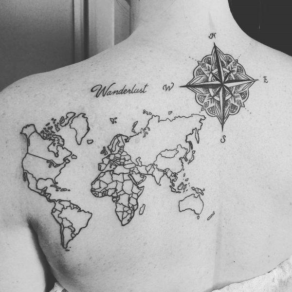 Tatuajes De Brújulas Hombre Mujer Significados 2019