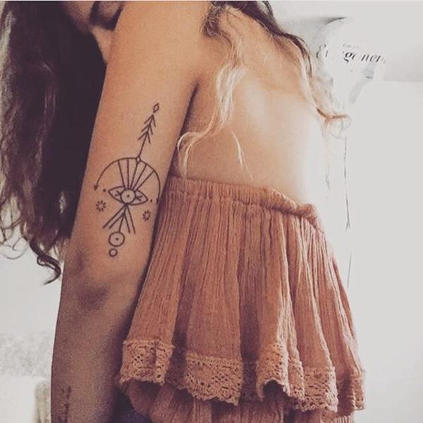 45 Tatuajes Geométricos Originales Con Significado 2019