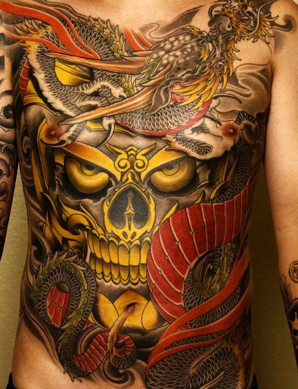 Tatuajes Japoneses Hombres Mujeres Significados 2019