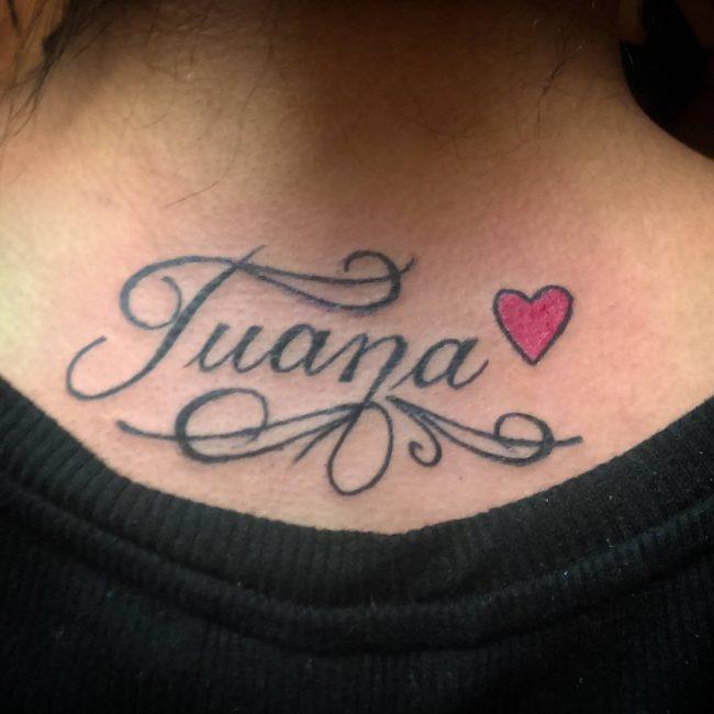Tatuajes De Nombres Hombres Y Mujeres Significados