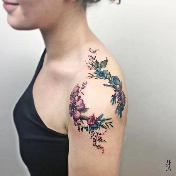 Mejores Tatuajes En El Hombro Con Significados2019