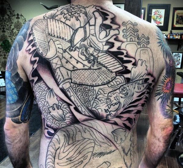 Tatuajes De Samurai Hombres Y Mujeres Significado 2019