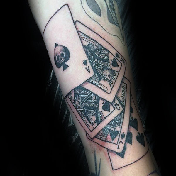Tatuajes De Cartas De Póker Significados Hombre Mujer