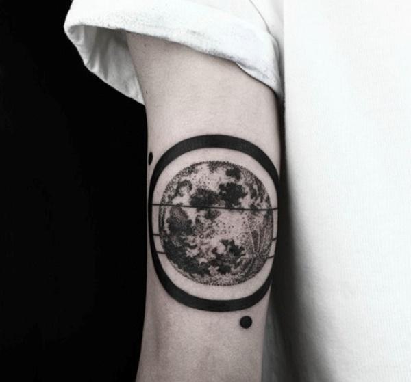 Tatuajes De Lunas Para Mujeres Y Hombres Diseños Originales