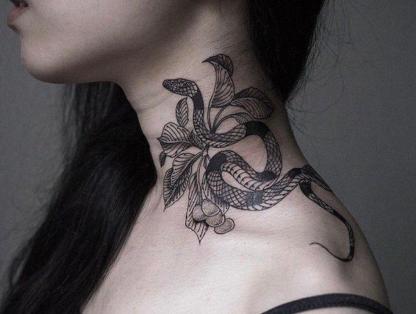 Tatuajes De Serpientes Hombres Y Mujeres Significados 2019