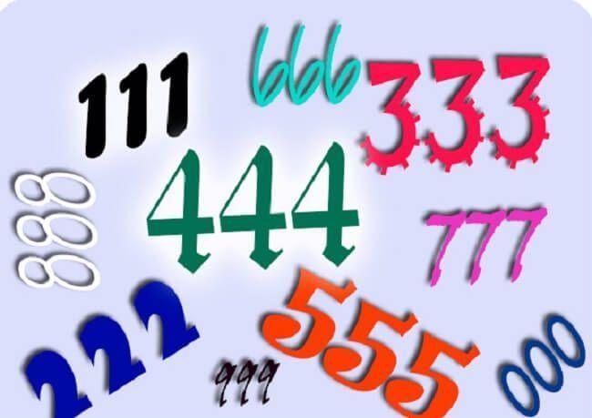 Significado De Los Numeros Triples