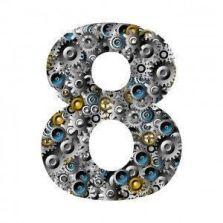 que significa el numero 8