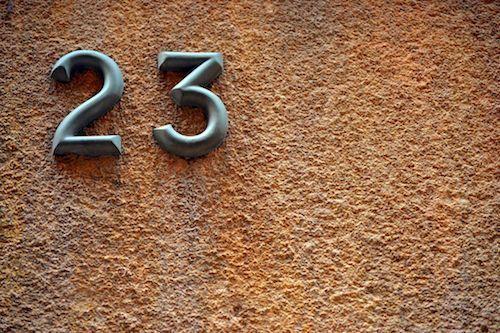 23 significado