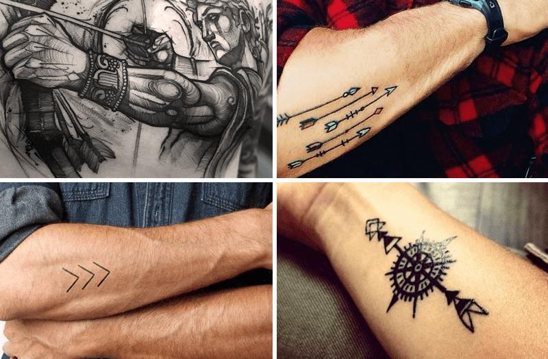 Significado De Los Tatuajes De Flechas Protección Y Guía