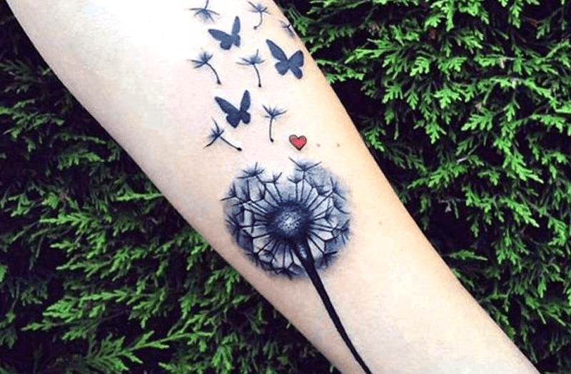 Tatuajes De Diente De León Significadosmujer Hombre