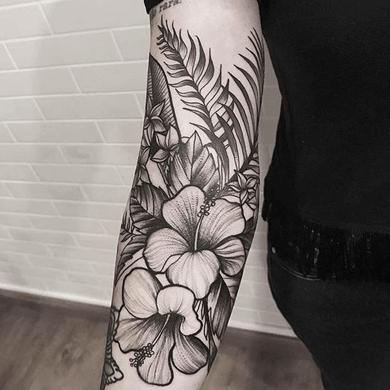 Tatuajes De Flores Hawaianas Significados Hibisco Orquídeas